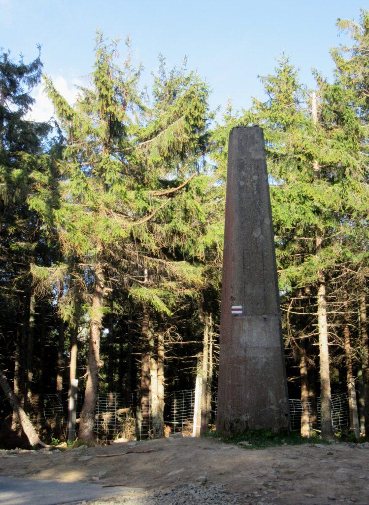 Obelisk na Radziejowej