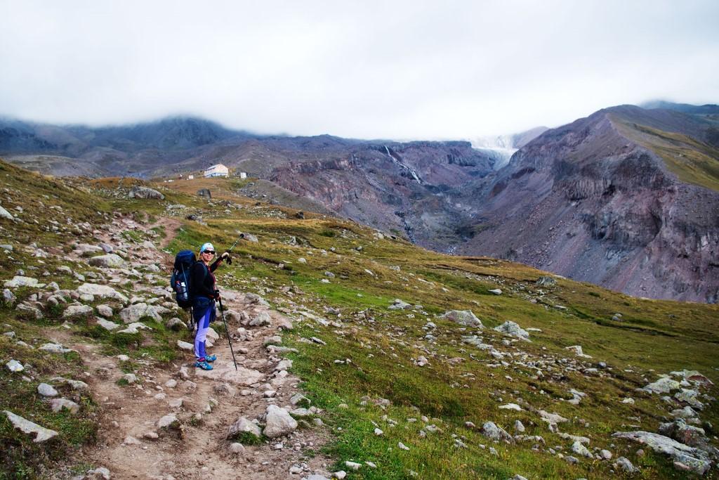 trekking pod kazbek