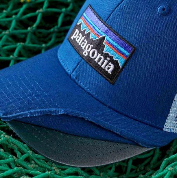 czapka patagonia wykonana z recyklingu sieci rybackich