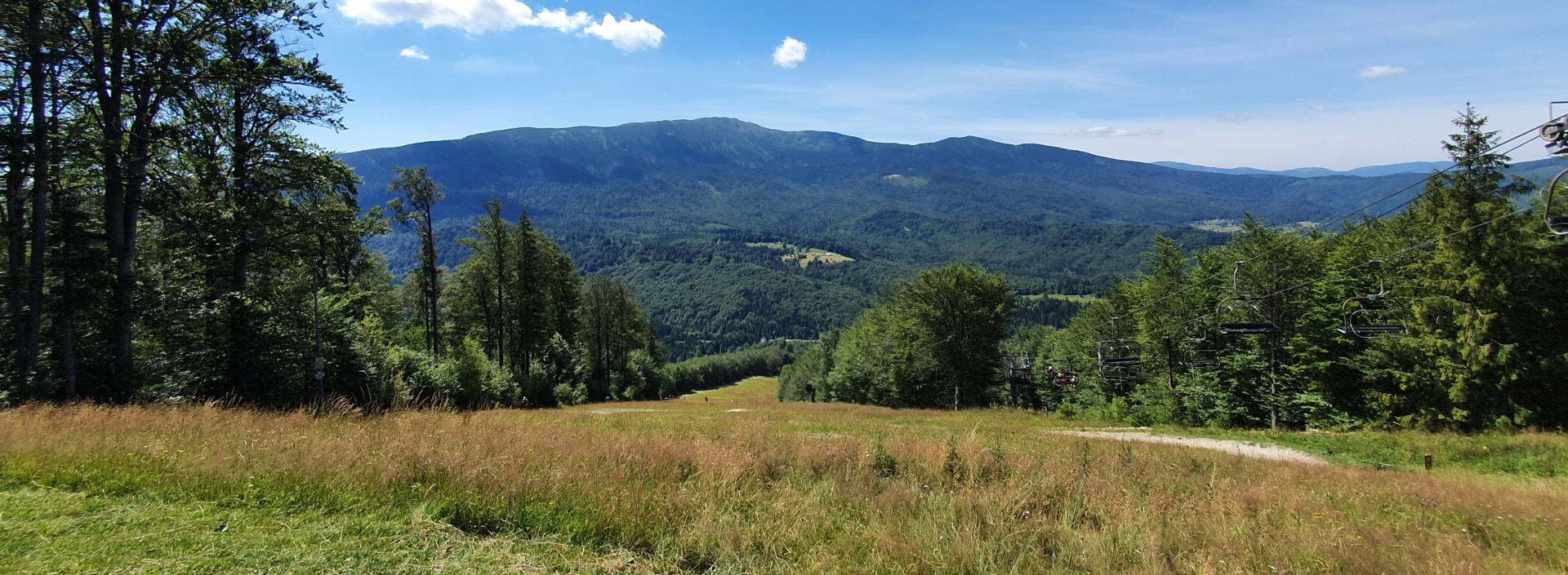 Babia Góra - widok na masyw