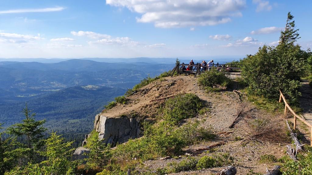 Punkt widokowy - Babia Góra