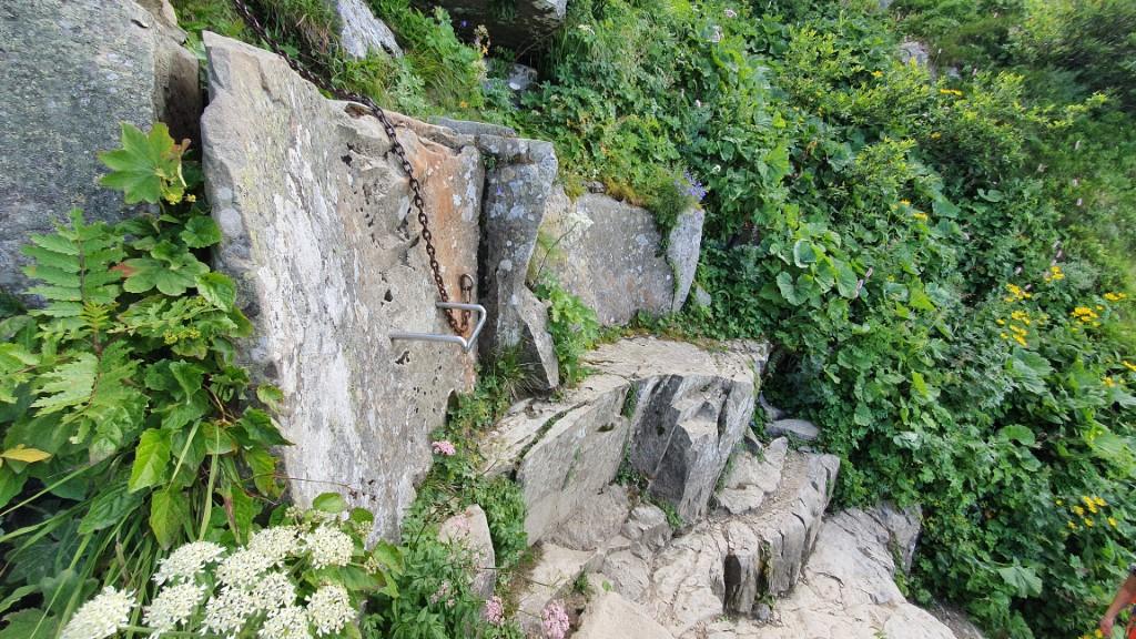 Babia Góra - klamra na perci