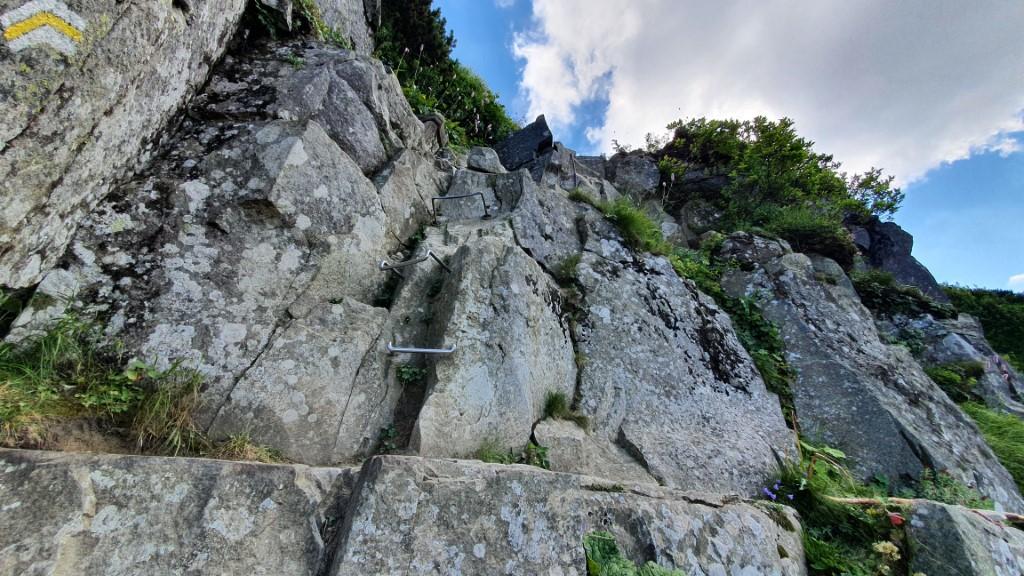 Babia Góra - ścianka Czarny Dziób