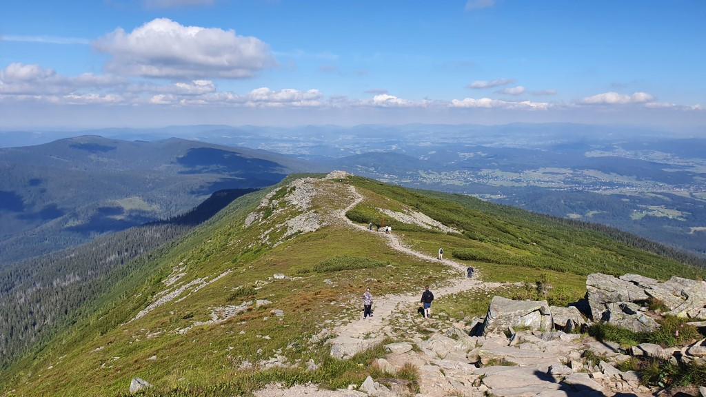 Widok na GSB - Babia Góra