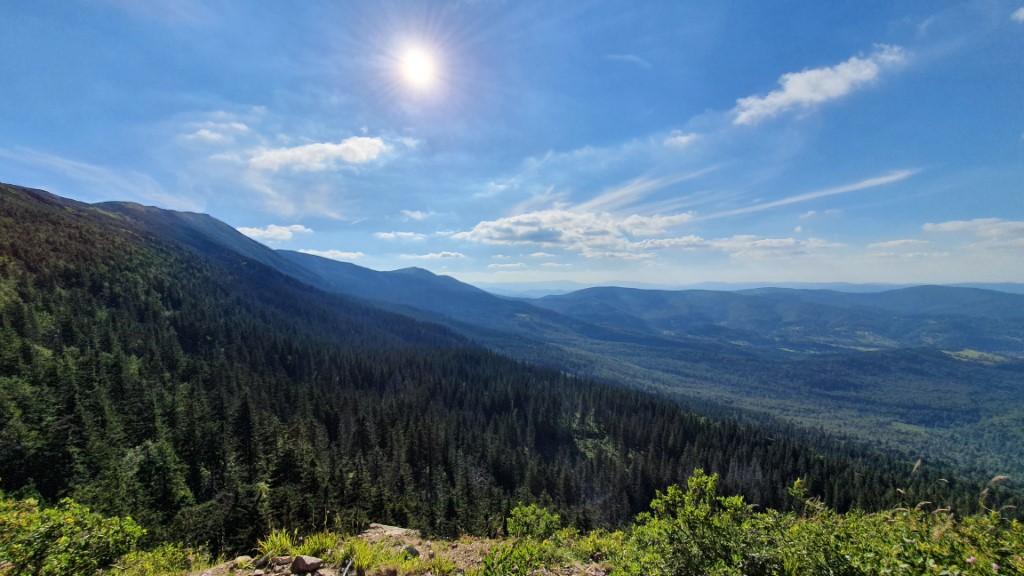 Widoki z Sokolicy - Babia Góra