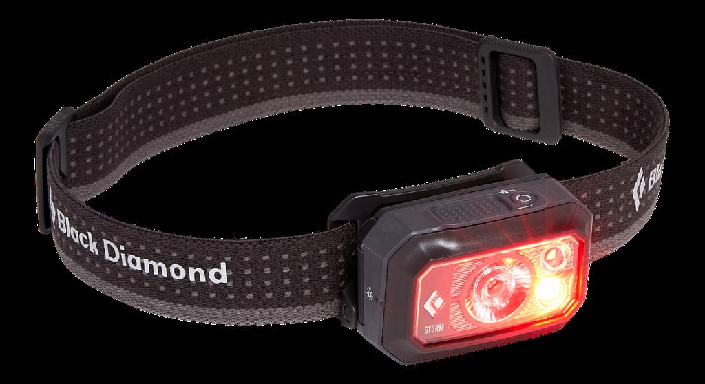 Black Diamond Storm - czerwone światło