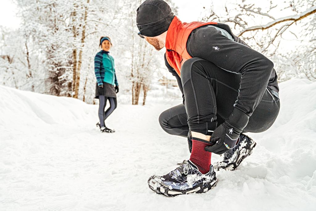 Ciepłe skarpety Smartwool na zimę