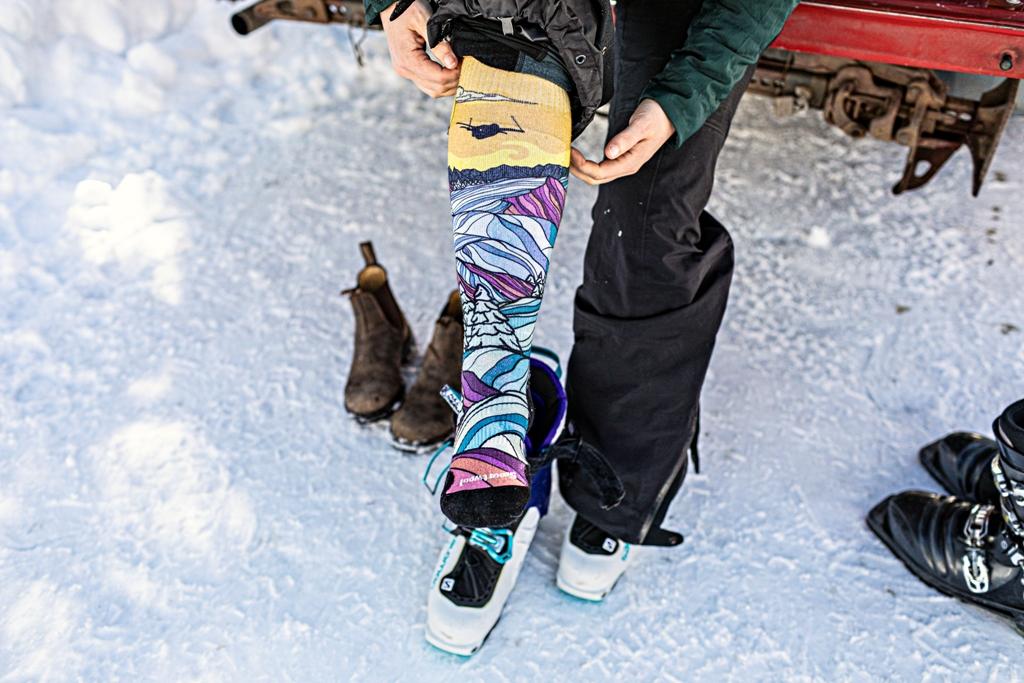 Długie skarpety zimowe Smartwool