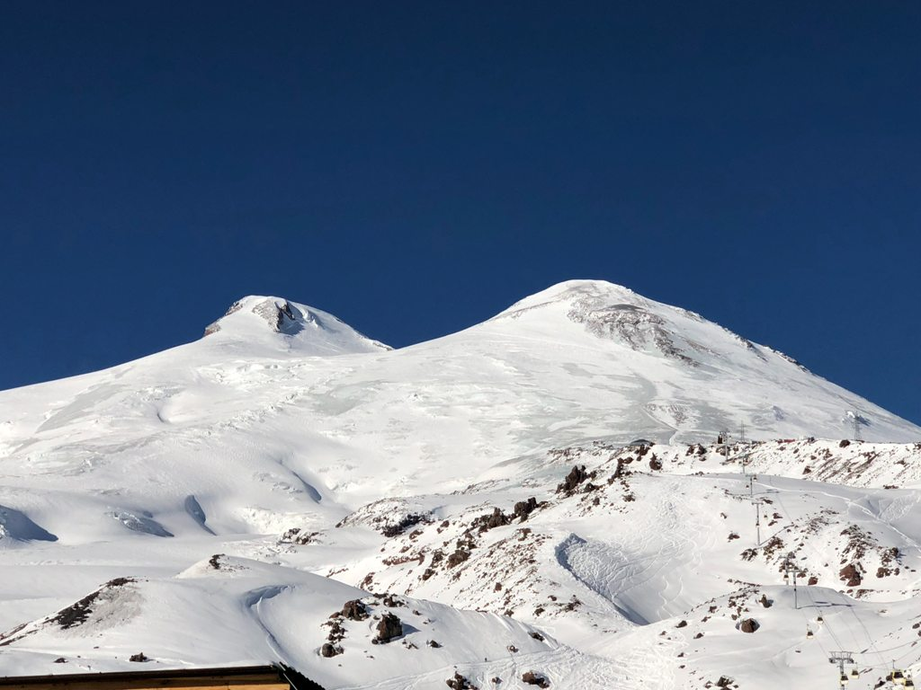 Elbrus - najwyższy szczyt Europy