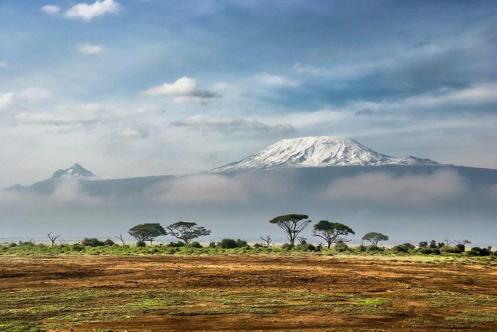 Kilimandżaro - najwyższy szczyt Afryki