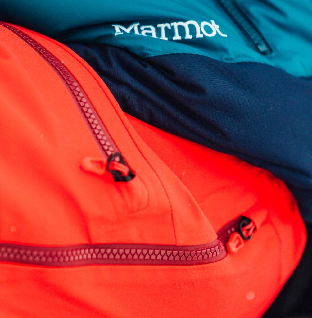 Marmot - kolorowe kurtki