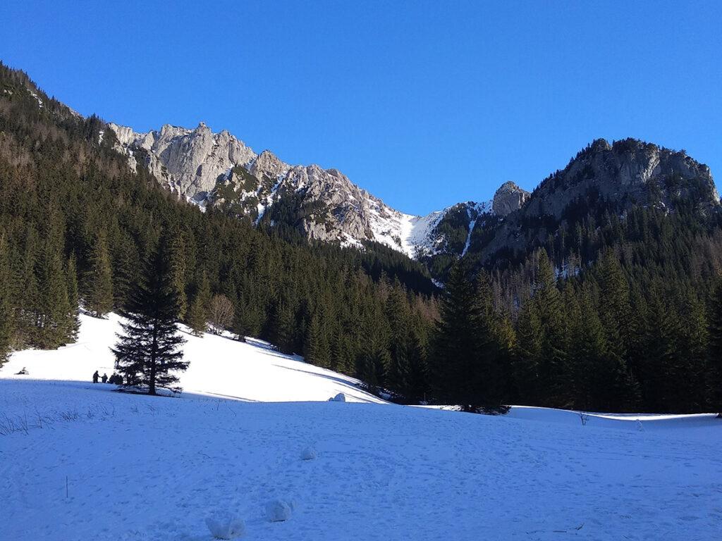 Polana Pisana zimą