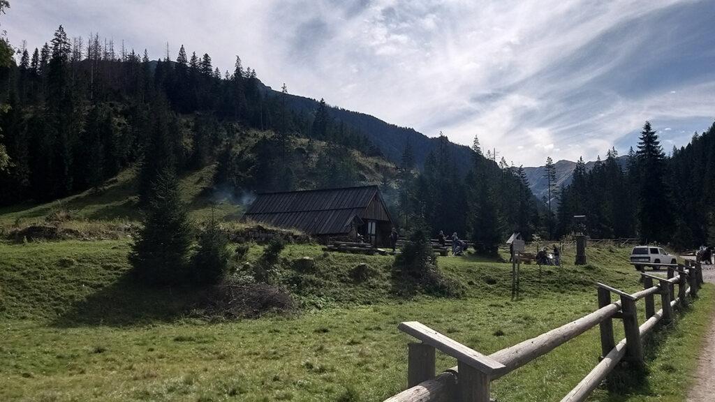 polana Huciska w Dolinie Chochołowskiej