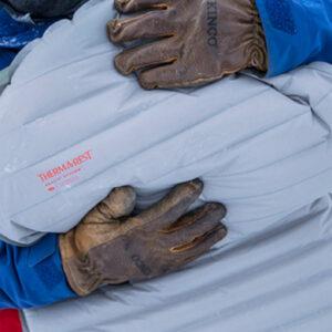 Mata samopompująca na zimę