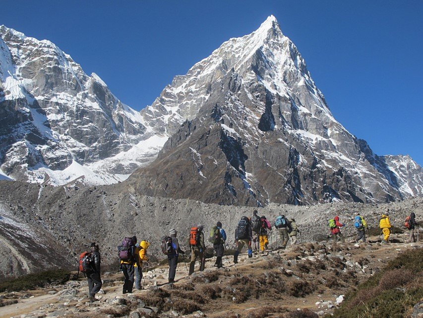 himalaje trekking everest