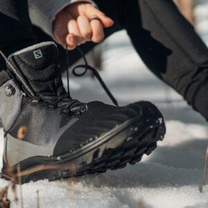 Sznurowanie butów trekkingowych Salomon
