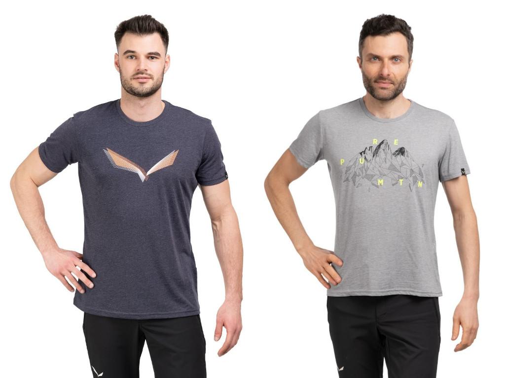 Koszulki męskie Salewa