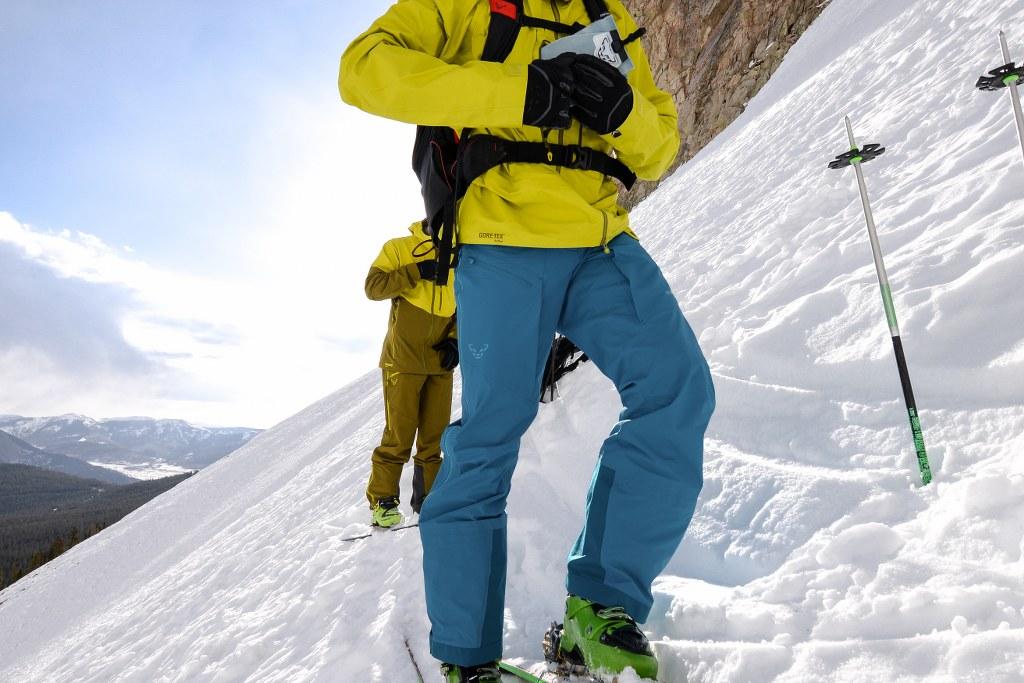 Spodnie Gore-Tex zima