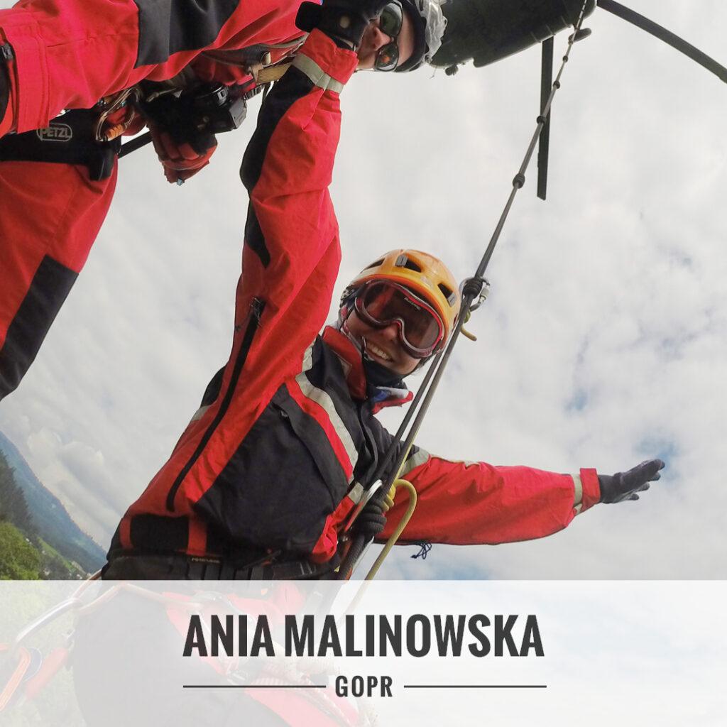 Anna Malinowska - grupa Jurajska GOPR