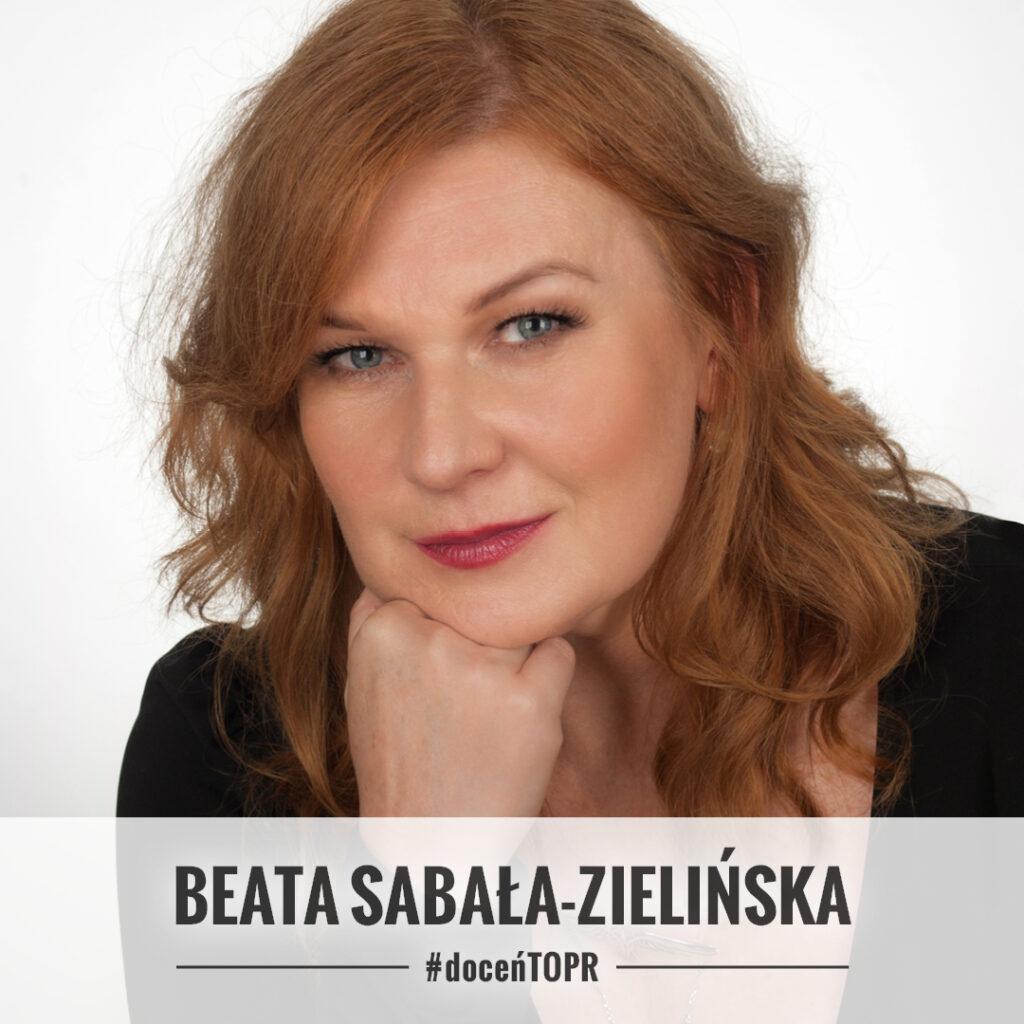 Beata Sabała-Zielińska