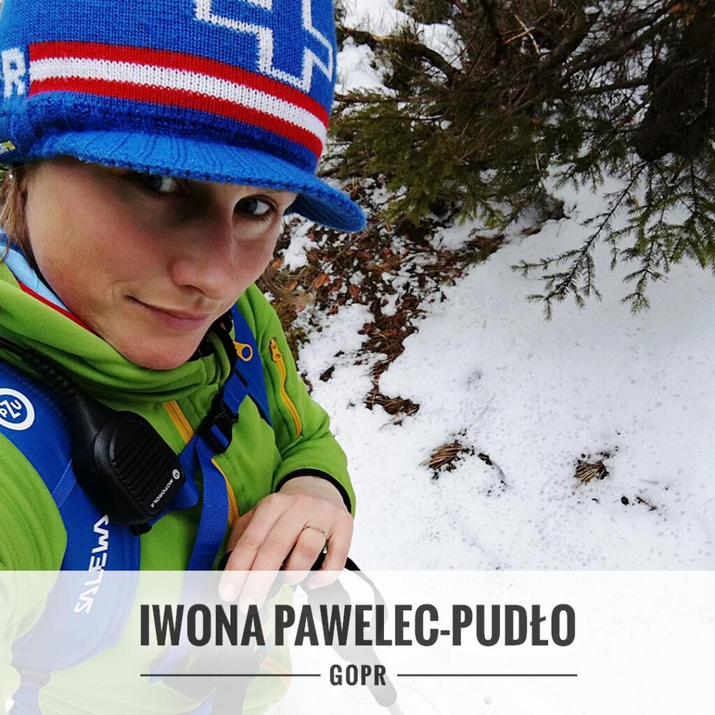 Iwona Pawelec-Pudło - ratowniczka GOPR w Sudetach.