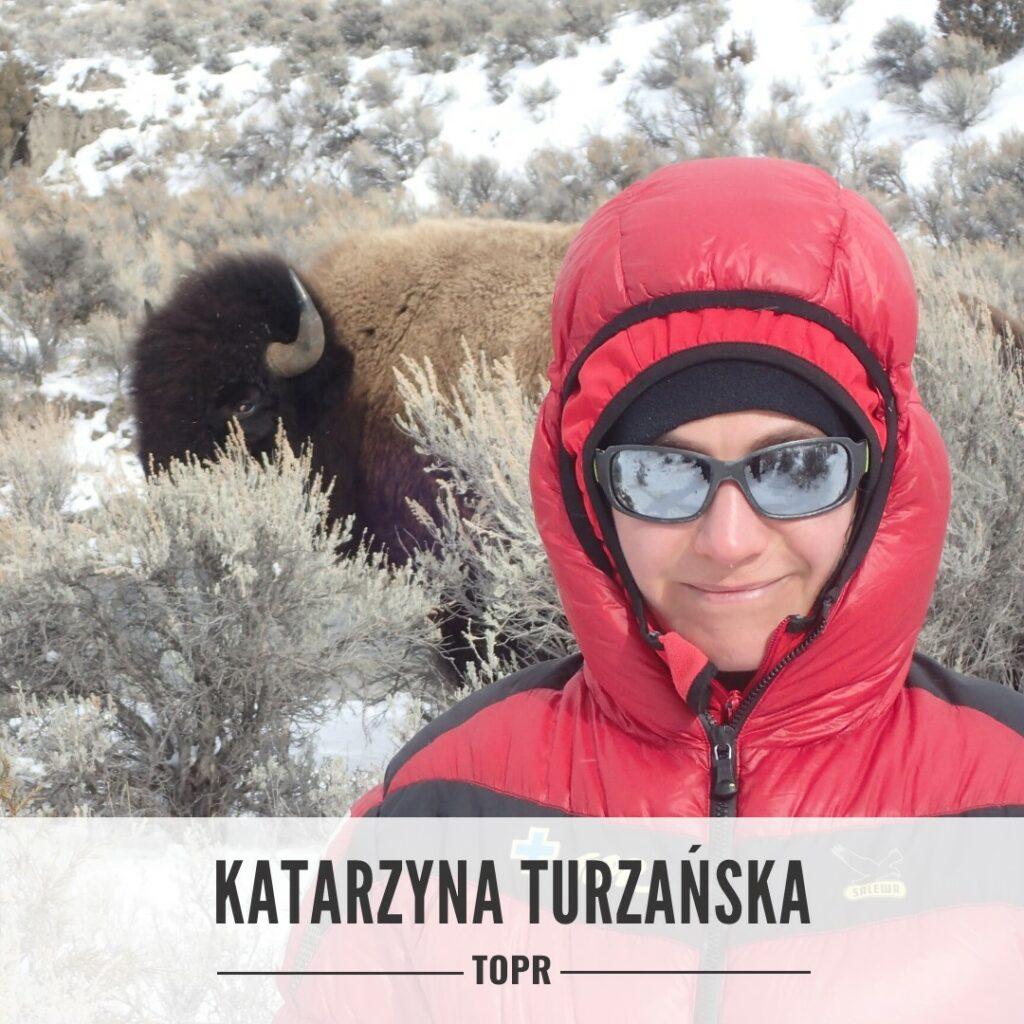Katarzyna Turzańska - ratowniczka TOPR