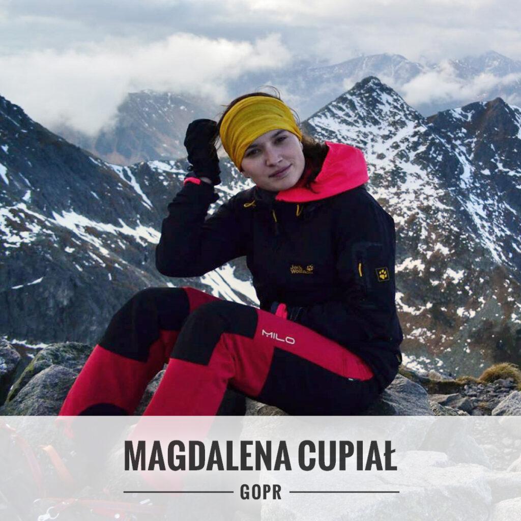 Magdalena Cupiał - Grupa Jurajska GOPR