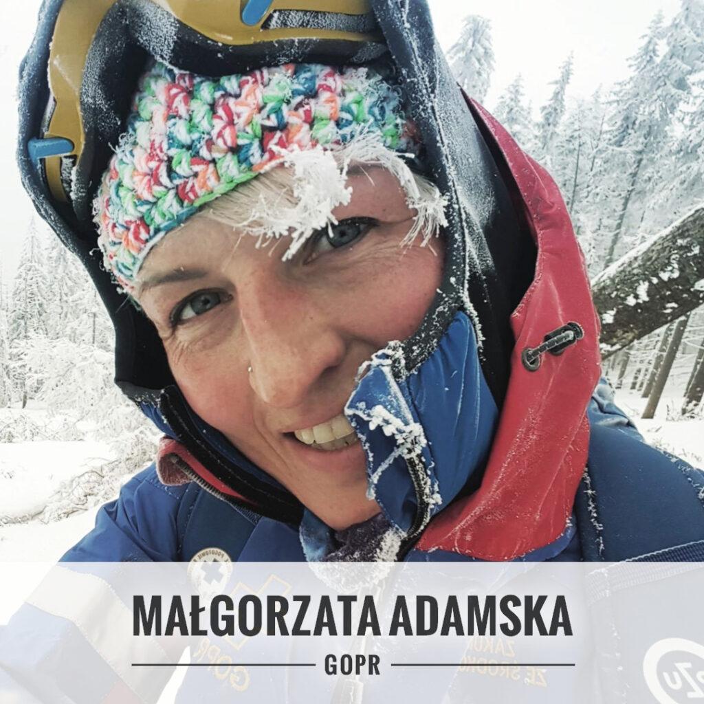 Małgorzata Adamska - Grupa Krynicka GOPR