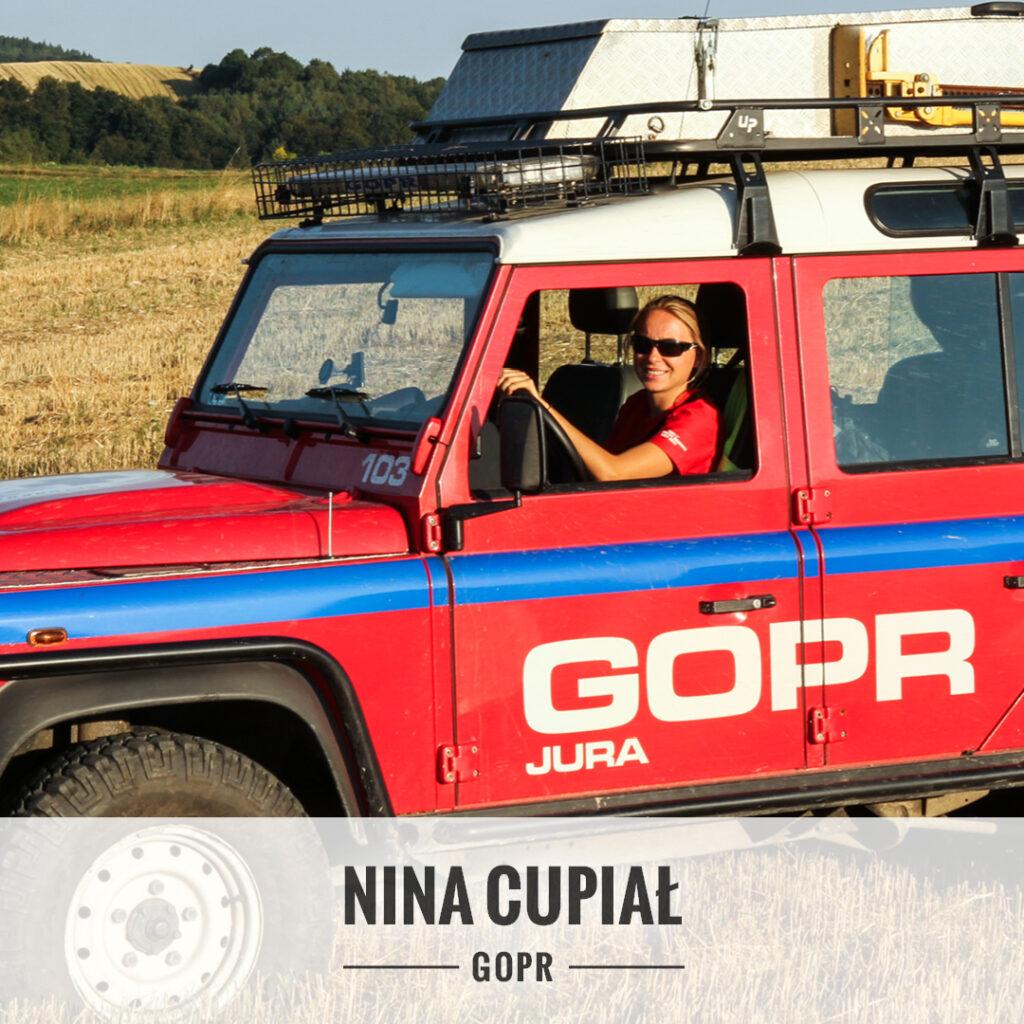 Nina Cupiał - Grupa Jurajska GOPR.