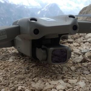 dron w dolomitach