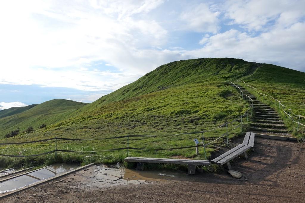 Szlak na Tarnicę schody