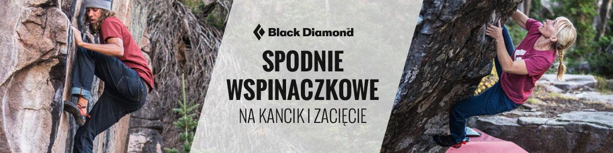 Spodnie wspinaczkowe męskie Black Diamond
