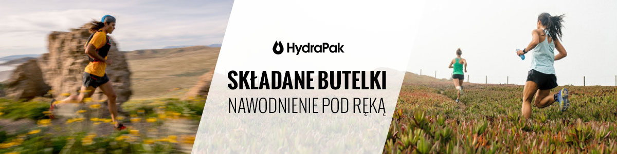 Butelki turystyczne Hydrapak