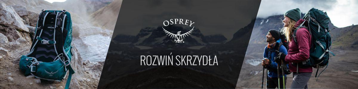 Plecaki turystyczne Osprey