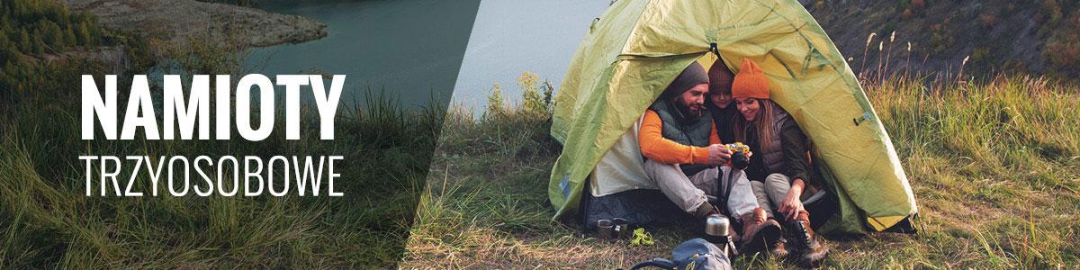 Namioty 3-osobowe