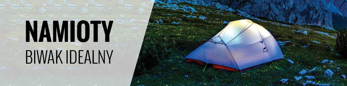 Namioty turystyczne 2-osobowe