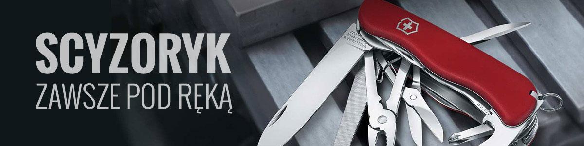 Scyzoryki, multitoole, noże
