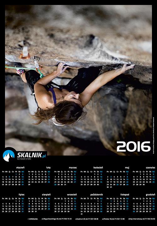 Konkurs kalendarz skalnik 2016