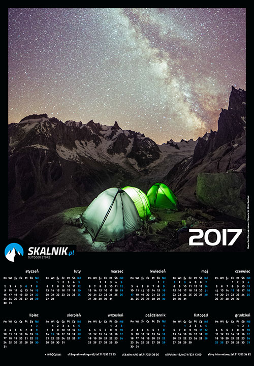 Konkurs kalendarz 2017