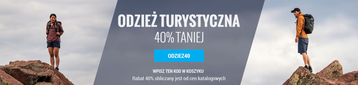 Odzież -40%
